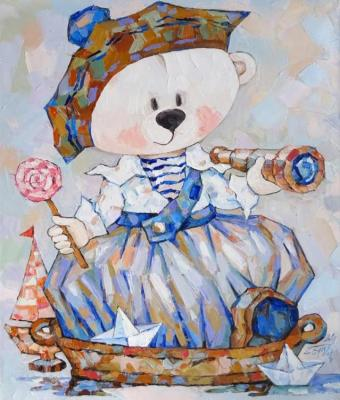 Butuzova Elena. Teddy Bear Sailor
