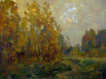 Gerasimov Vladimir. Moscow. Autumn at noon (Kosino)