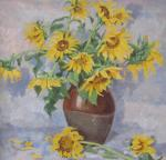 Moskaleva Irina. sunflower