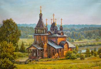 Panov Eduard. The Church Of St. Nicholas