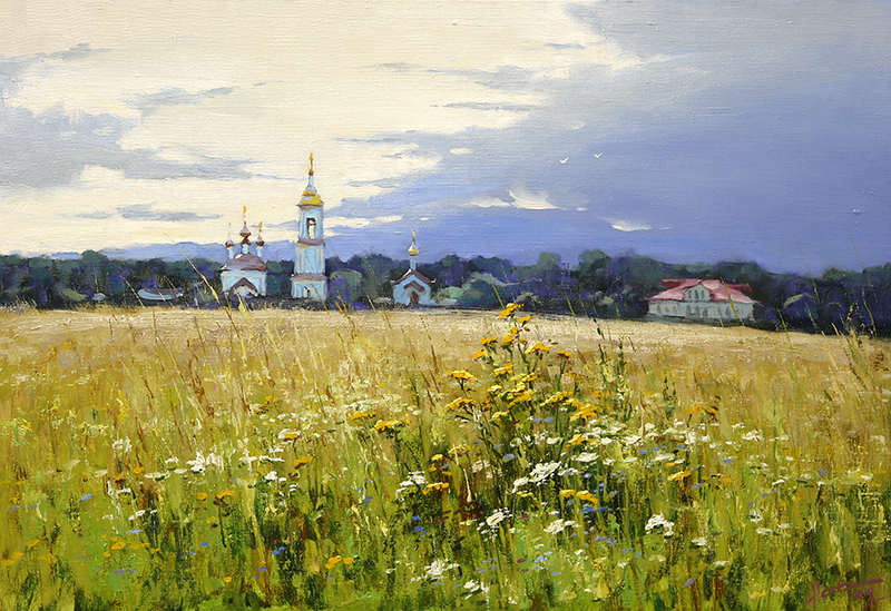 Nesterchuk Stepan. In the surroundings of Suzdal
