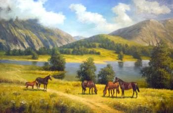 Grokhotova Svetlana. Altai open spaces