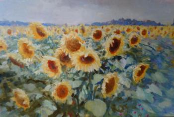 Komarov Nickolay. Sunflowers