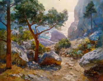 Sviridov Sergey. The wind from the sea. Simeiz
