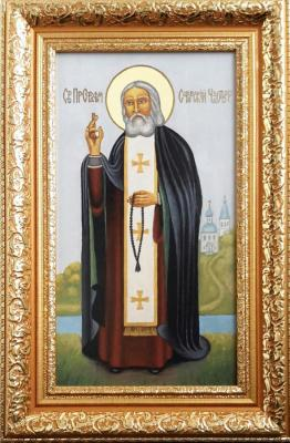 "Icon ""St. Seraphim Of Sarov The Wonderworker"". Markoff Vladimir"