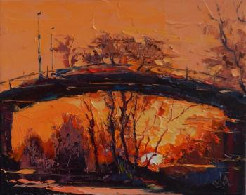 Golovchenko Alexey. Under the bridge