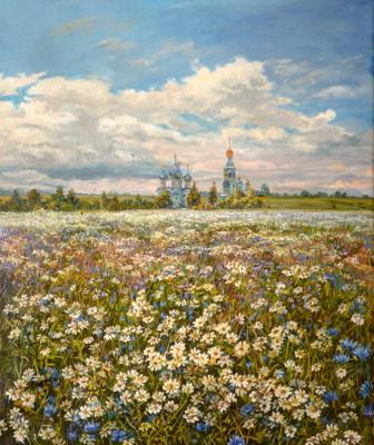 The Russian open spaces. Panov Eduard