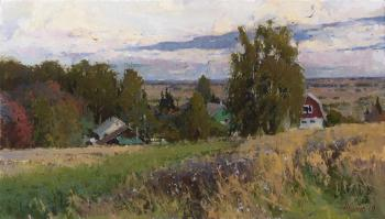 Kamenka. Autumn (Feather Grass). Zhilov Andrey