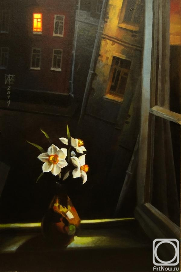 Andrianov Andrey. When drunk daffodils