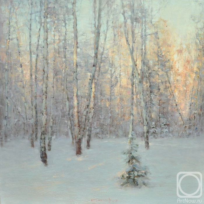 Korotkov Valentin. Winter forest