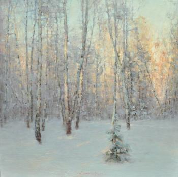 Winter forest. Korotkov Valentin