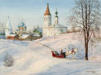 Winter in Suzdal