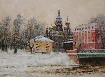 Malykh Evgeny. Saint Petersburg. The Church of the Saviour on Blood