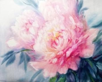 Mikhalskaya Katya. Peonies of the summer