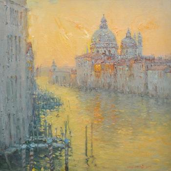 Korotkov Valentin. Evening in Venice