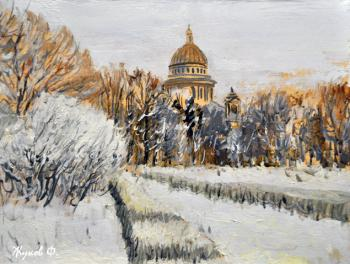Zhukoff Fedor. Winter at Isaac