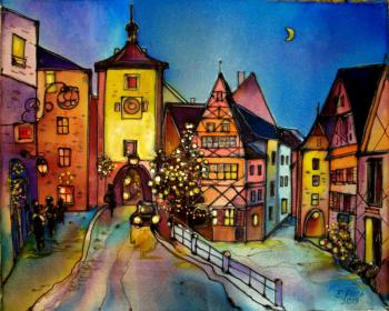 Rothenburg is the city of eternal Christmas. Ripa Elena