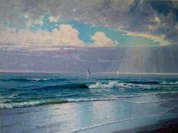The sea. Surf. Fyodorov Michail
