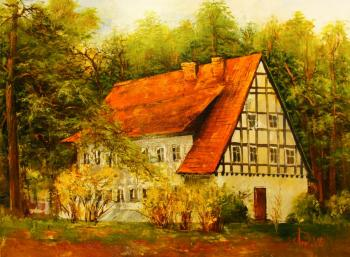 Beautiful house (Buy A Picture In The House). Lednev Alexsander