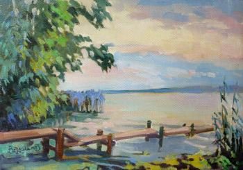 Galich. Evening on the lake. Vedeshina Zinaida