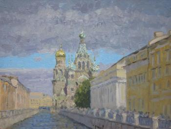 Chertov Sergey. Saint-Petersburg. Church of the Savior on blood