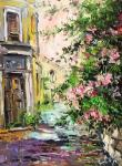 Street in Rome (the Italian series). Charina Anna