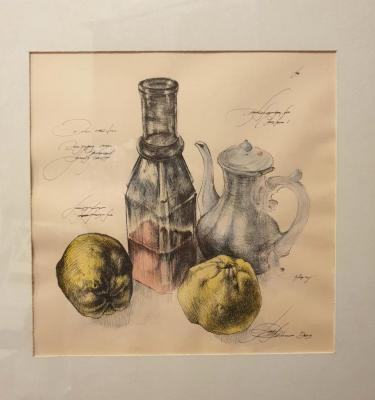 Belareva Rivka. Still life with kettle