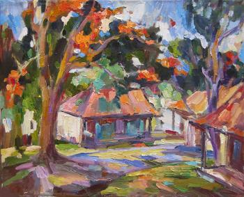 Tropical garden. Bocharova Anna