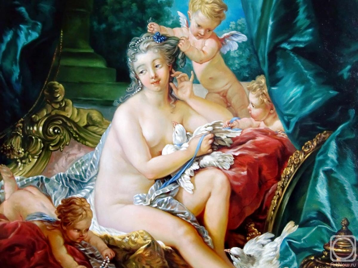 Cherkasov Vladimir. The toilet of Venus (fragment)