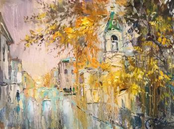 Charina Anna. Autumn in Obydensky lane