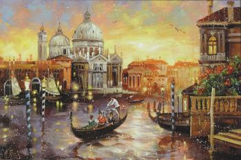 Venice at sunset. Boev Sergey