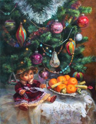 Under the Christmas tree (New year). Shumakova Elena