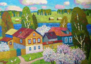 Berdyshev Igor. Spring on the Embankment