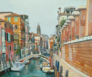 Venetian vacation. A walk along the channels N3. Romm Alexandr