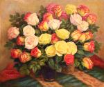 Two bouquets of roses. Shumakova Elena