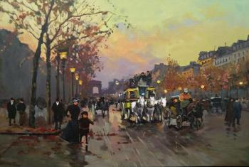 Champs Elysees (Champs Elysees, copy Cortes Edward Leon). Potapova Maria