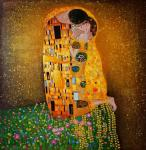 Kiss.copy of G. Klimt. Minaev Sergey