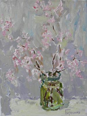 Goretskaya Polina. The branch of almond
