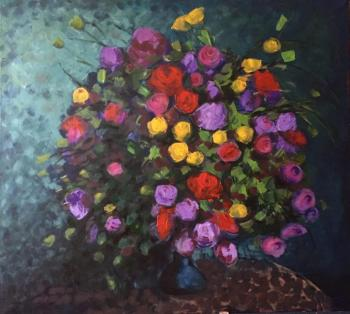 Volkova Anna. Holiday bouquet
