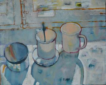 Two cups (Sun Glare). Gorshunova Tatiana