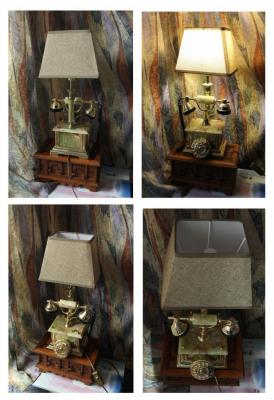 Podgaevskaya Marina. Table lamp TELEPHONE