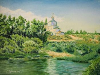 Voloshina Ekaterina. The house of the Lord. Mtsensk