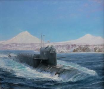 Avacha Bay. Submarine