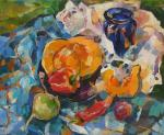 Bocharova Anna. Orange pumpkin