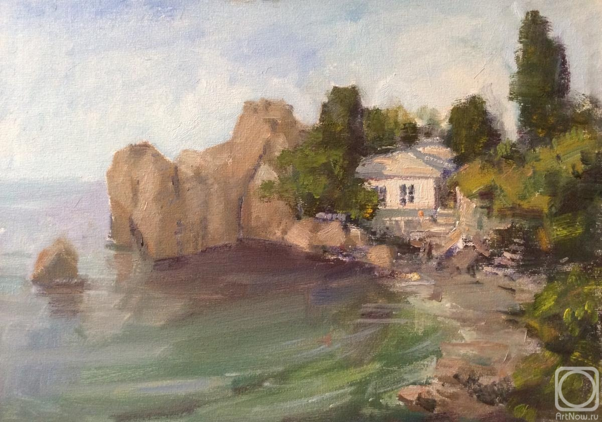 Poluyan Yelena. House by the sea