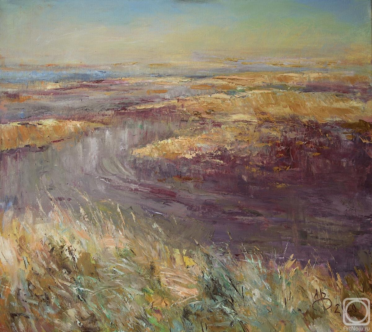 Vyrvich Valentin. Estuaries and steppe