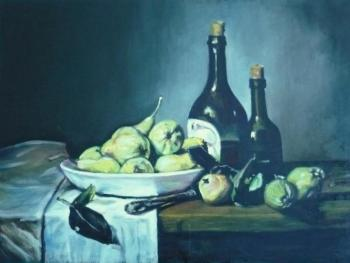 Maquisard Alastair. Still life with pears