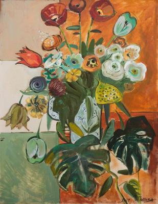 Popova Tatiana. The flowers