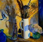 Still life with bird. Sushkova Olga