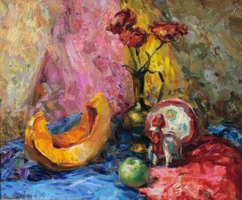 Still life in bright colors. Lyssenko Andrey